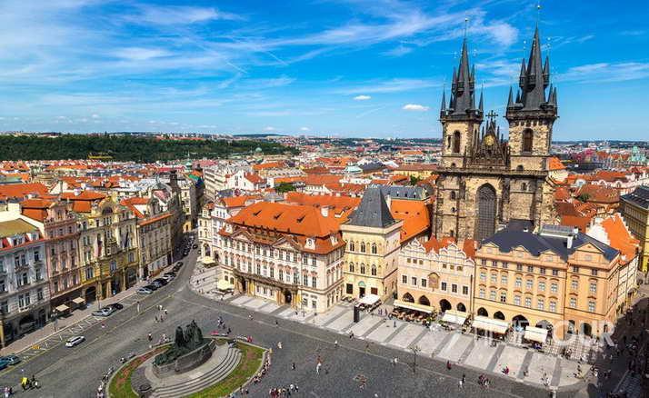 Wycieczka szkolna do Pragi - Stare Miasto