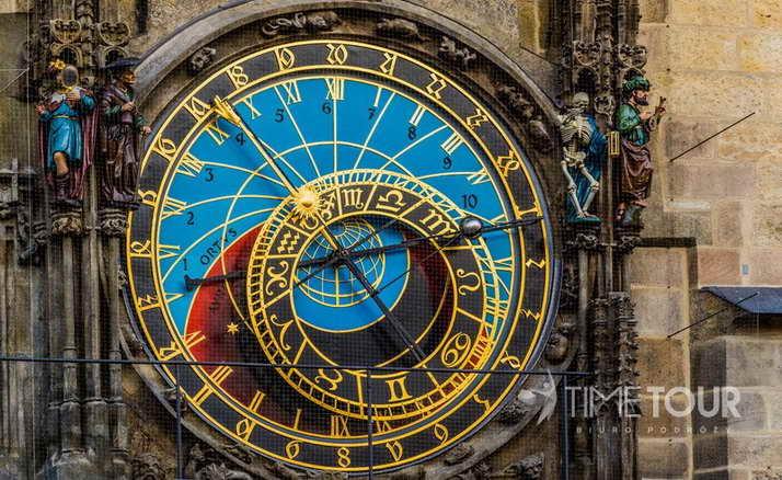 Wycieczka szkolna do Pragi - Orloj zegar astronomiczny