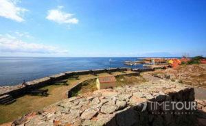 Wycieczka szkolna na Bornholm - ruiny zamku