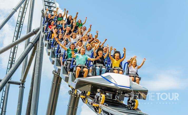 Wycieczka szkolna do Energylandii - Hyperion mega coaster