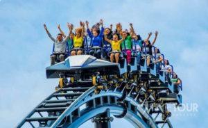 Wycieczka szkolna do Energylandii - Hyperion rollercoaster
