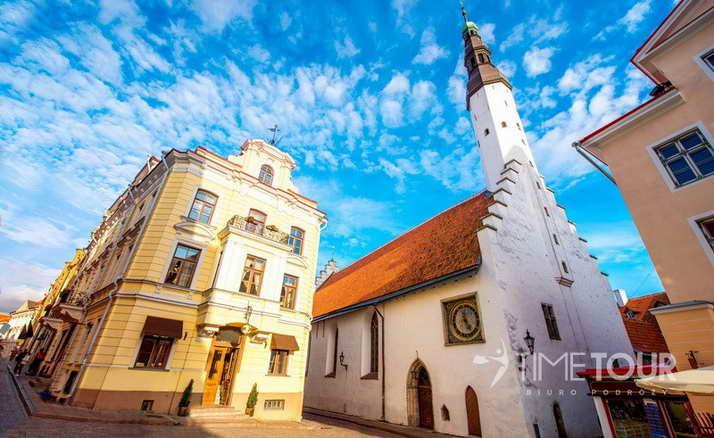 Wycieczka szkolna do Tallina - kościół