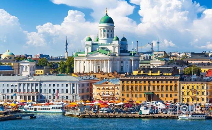 Wycieczka szkolna do Helsinek - katedra, Pałac Prezydencki i targ rybny