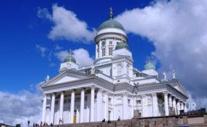 Wycieczka szkolna do Helsinek - katedra luterańska