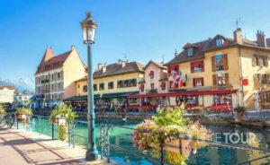 Wycieczka szkolna do Francji - Annecy