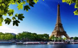 Wycieczka szkolna do Paryża - wieża Eiffla i Sekwana