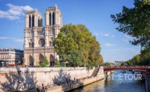 Wycieczka szkolna do Paryża - katedra Notre Dame i wyspa la Cite