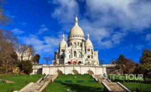 Wycieczka szkolna do Paryża - Sacre Coeur bazylika