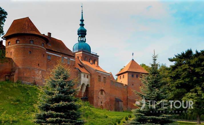 Wycieczka szkolna do Fromborka - wzgórze katedralne