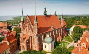 Wycieczka szkolna do Fromborka - katedra fromborska