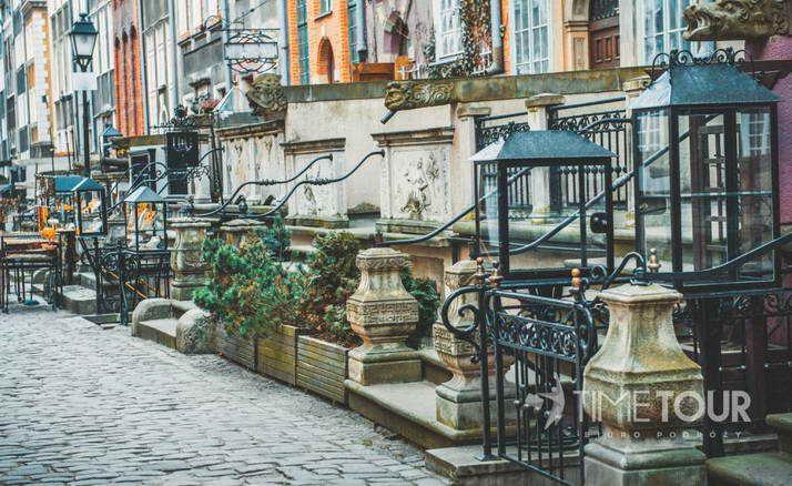 Wycieczka szkolna do Gdańska - ulica Mariacka