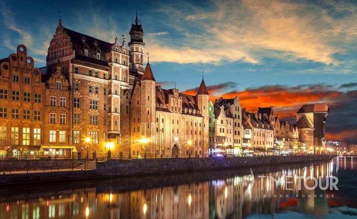 Wycieczka szkolna do Gdańska - Długie Pobrzeże i Żuraw
