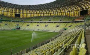Wycieczka szkolna do Gdańska - stadion Arena