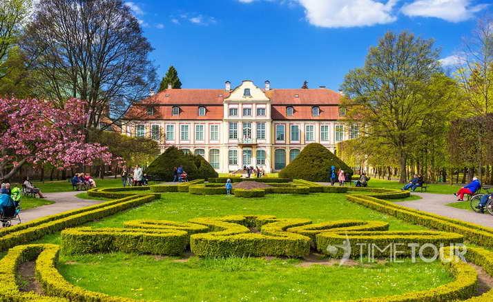 Wycieczka szkolna do Gdańska - Park Oliwski i Pałac Cystersów