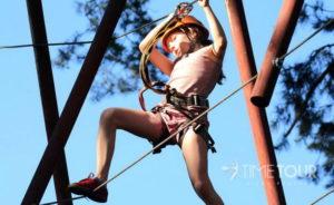 Wycieczka szkolna do Gdyni - Adventure Park w Kolibkach