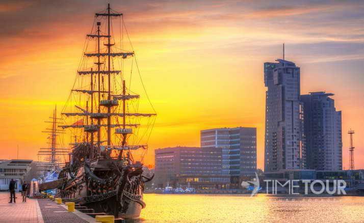 Wycieczka szkolna do Gdyni - Molo Południowe i Sea Towers