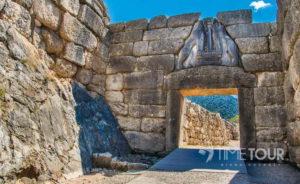 Wycieczka szkolna do Grecji - Mykeny strefa archeologiczna