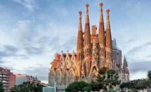 Wycieczka szkolna do Hiszpanii - Sagrada Familia w Barcelonie