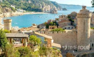 Wycieczka szkolna do Hiszpanii - Tossa de Mar na Costa Brava