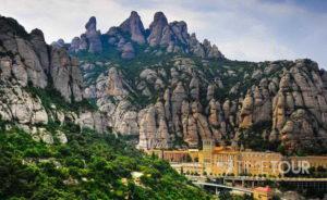 Wycieczka szkolna do Hiszpanii - Masyw Montserrat