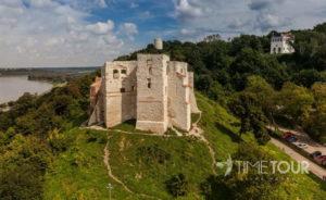 Wycieczka szkolna do Kazimierza Dolnego - ruiny zamku