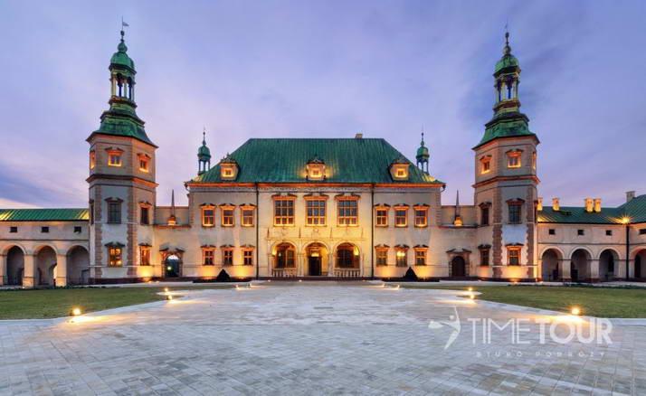 Wycieczka szkolna do Kielc - dawny pałac biskupów krakowskich