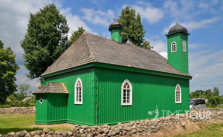 Wycieczka szkolna na Podlasie - meczet w Kruszynianach