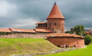Wycieczka szkolna do Kowna - pozostałości zamku