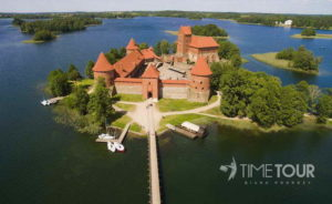 Wycieczka szkolna do Trok - Zamek w Trokach i jeziora