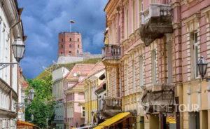 Wycieczka szkolna do Wilna - wieża Giedymina