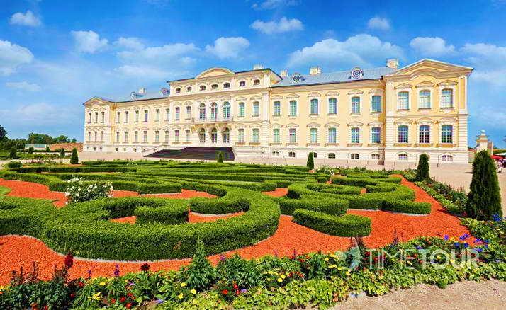 Wycieczka szkolna na Łotwę - Pałac Rundale