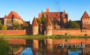 Wycieczka szkolna do Malborka - Zamek w Malborku