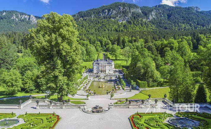 Wycieczka szkolna do Bawarii - Zamek Linderhof