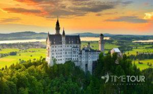 Wycieczka szkolna do Bawarii - Neuschanstein