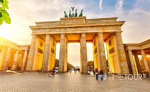 Wycieczka szkolna do Berlina - Brama Brandenburska