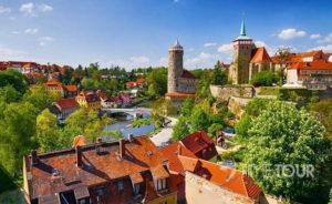 Wycieczka szkolna do Budziszyna (Bautzen) - panorama miasta