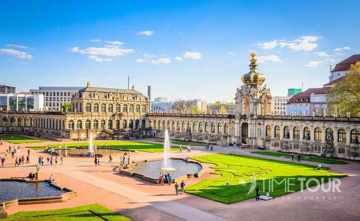 Wycieczka szkolna do Drezna - barokowy Pałac Zwinger