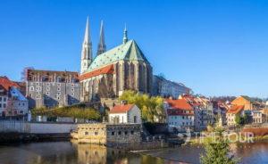 Wycieczka szkolna do Görlitz - panorama miasta