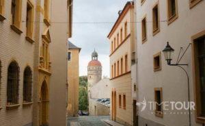 Wycieczka szkolna do Görlitz - wąskie uliczki