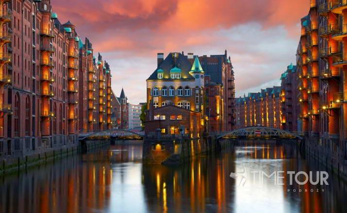 Wycieczka szkolna do Hamburga - spichlerze