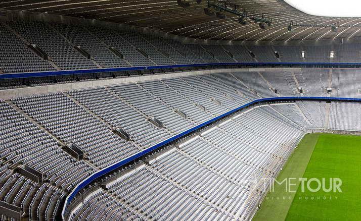 Wycieczka szkolna do Monachium - Allianz Arena stadion Bayernu