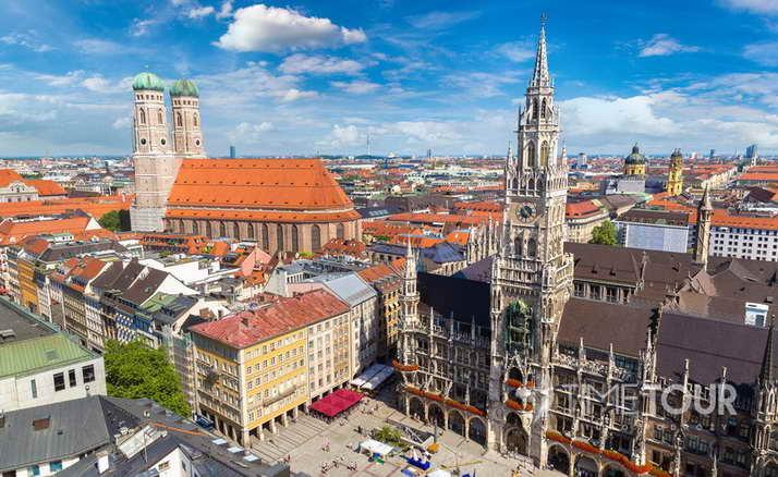 Wycieczka szkolna do Monachium - Nowy Ratusz w Monachium