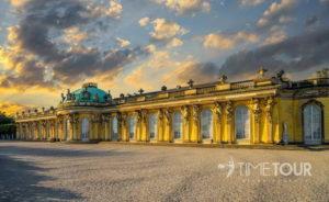 Wycieczka szkolna do Poczdamu - Pałac Sanssouci
