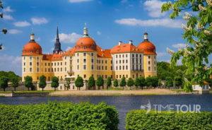 Wycieczka szkolna do Moritzburgu - pałac na wodzie