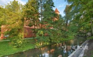 Wycieczka szkolna do Olsztyna - Łyna i zamek