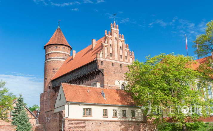 Wycieczka szkolna do Olsztyna - zamek kapituły warmińskiej