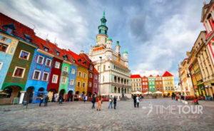 Wycieczka szkolna do Poznania - Rynek