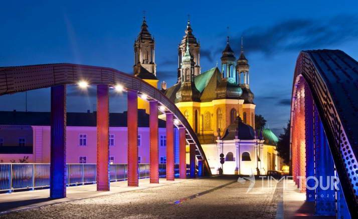 Wycieczka szkolna do Poznania - ostrów i katedra poznańska