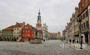 Wycieczka szkolna do Poznania - Rynek i ratusz
