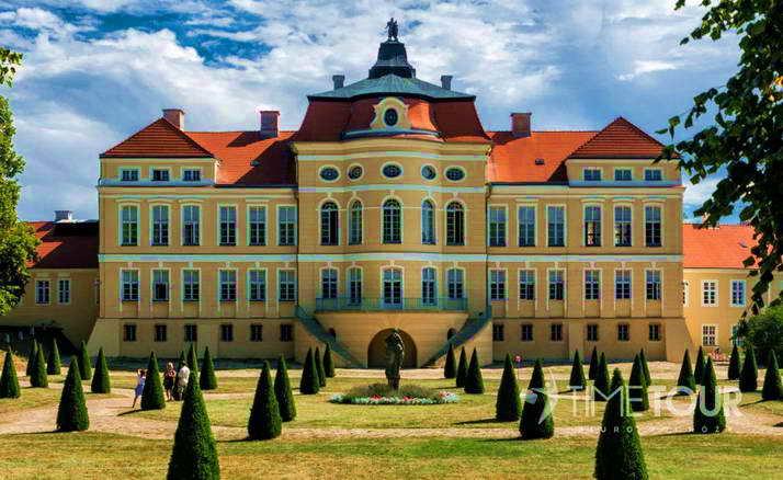 Wycieczka szkolna do Wielkopolski - Pałac w Rogalinie